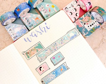 Washi Tape-Japanese pattern