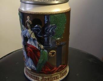 Anheuser Busch Budweiser Archive Series stein