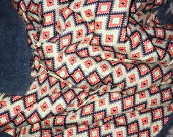 Faux Llama Baby Blanket