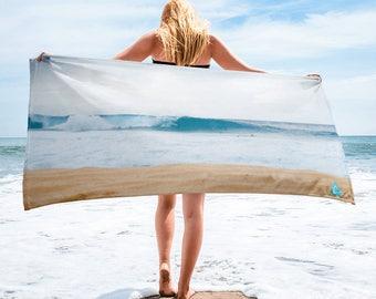 North Shore Pipeline Surf PhotoBeachTowel™
