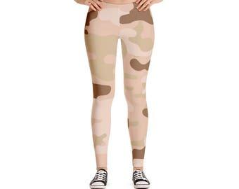 Desert Camouflage Leggings