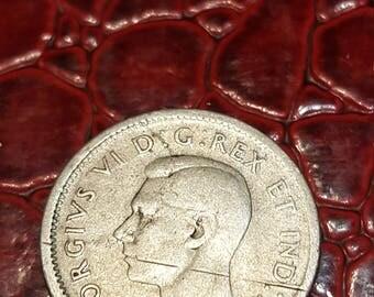 1945  Canada Silver Dime