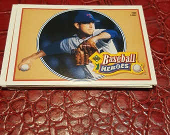 NM 1990 Upper Deck Baseball Heroes Nolan Ryan #15 OF 18.1 Card.combined shipping
