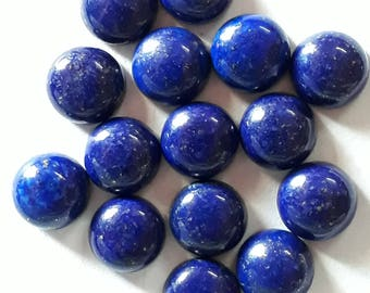 Top quality!!! 20 pieces Lapis lazuli  round with deep blue colour