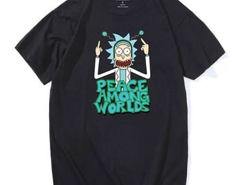 Rick And Morty Peace Among Worlds T Shirts