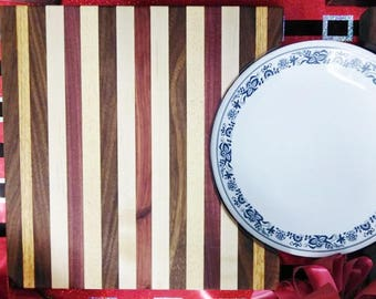 Exotic Wood Plate Board