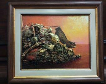 Oil Painting: Cogitation II / Mindgame