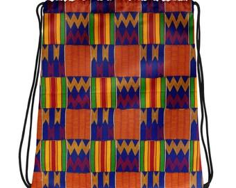 Kente Drawstring bag II