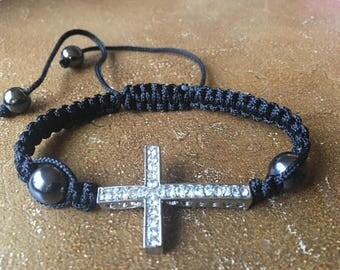 Cross Macrame Bracelet, Valentine's Day Gift, Cheap Gif, Friendship Bracelet