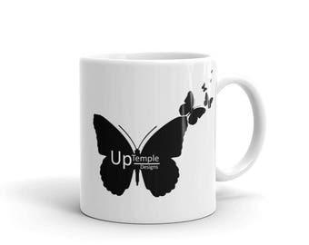 UpTemple Designs Butterfly Mug