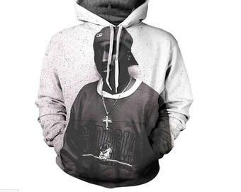 Tupac Hiphop Singer Sweatshirts sweatshirt hoodie hooded jumper colorful winter autumn stylish