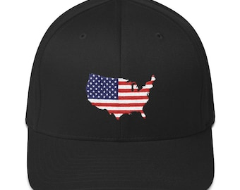 USA Structured Twill Cap