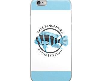 Frontosa Cichlid Lover  iPhone Case - Aquarium Fish Lover  - iPhone Case