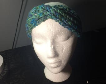 Cold Weather Headband Gray Multi