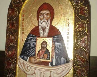 Icon of Saint Alypius