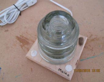 Lamp,NightLight,Nitelite,Desk lamp nautical homemade