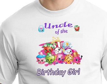 Shopkins , Iron On Transfer , Shopkins Uncle , DIY Uncle Birthday Shirt , Transparent Background , Instant Download , Digital Files