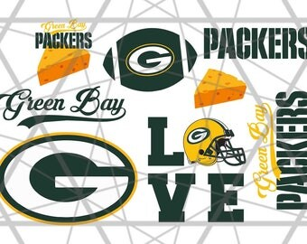 Packers svg, Green Bay svg, Packers clipart, Green Bay clipart, cheesehead svg, football logo, circut, silhouette cameo