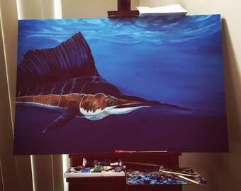 Sailfish Painting