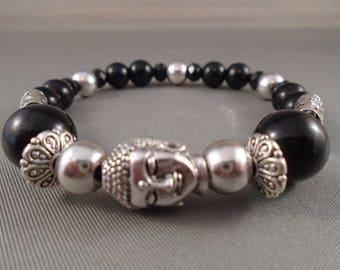 Buddha styled shimbala bracelet