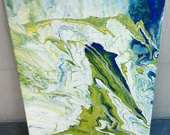 Acrylic Pour - 12x16