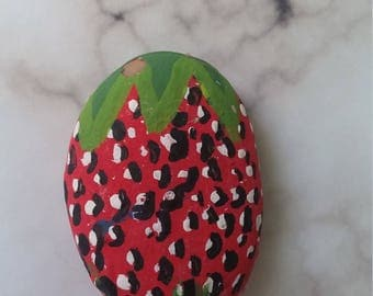 Hand Painted Strawberry