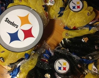 Steelers wreath