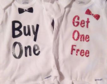 Buy One Get One Free Twin Onesies