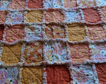 Rag Quilt - Baby Lovey