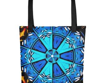 Abstract Mandala - Tote bag