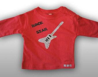 T-shirt Miniskull boy rock star