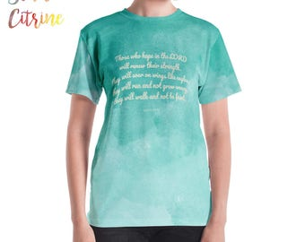Inspiring Christian T-shirt, Christian T-shirts Christian T-shirt Women, Scripture T-shirt Women T-shirts Christians Christian Woman T-shirt