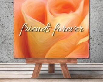 "Unique Custom Art: ""Friends Forever"""