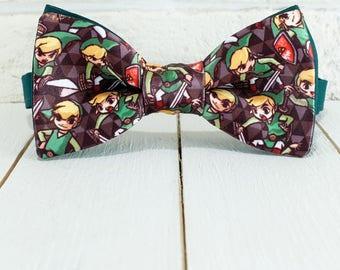 Zelda Bow tie, Link Bowtie, Videogames