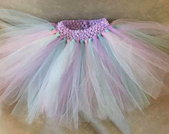 Girls Rainbow multicoloured unicorn tutu