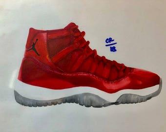 Air Jordan Win Like 96 Print
