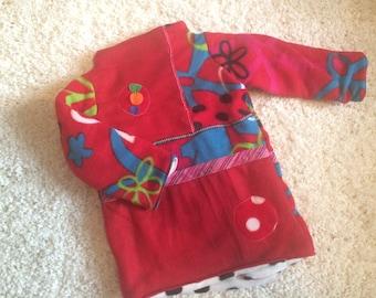 Fleece coat 3/4 years