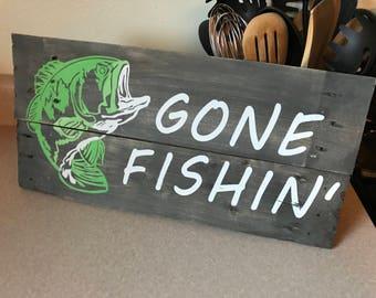 Custom painted wood signs