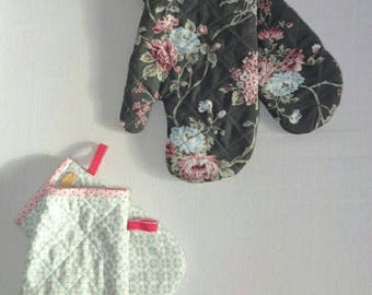 Oven gloves for young and old