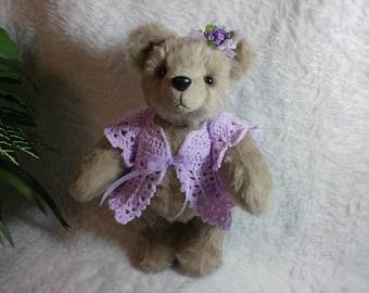 Baby Violet Teddy Bear