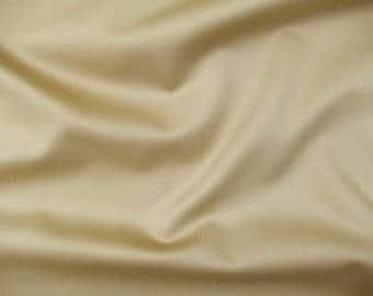 Cotton fabric No. 471177 in Camelbraun with silky sheen