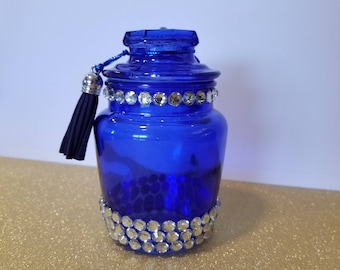 Glass Stash Jar