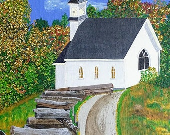 Country Church in Canada