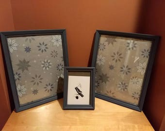 Set of 3 picture frames