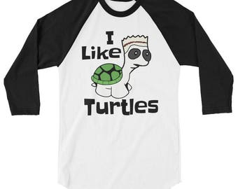 Funny I Like Turtles longsleeve shirt