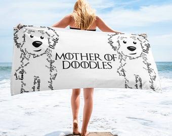 Mother of Doodles Towel- GoldenDoodle LabraDoodle SheepaDoodle BerneDoodle