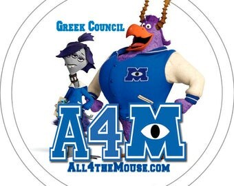 All 4 the Mouse Monsters University Buttons Volume 2