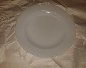 MacBeth-Evans Petalware Monax Opalescent Luncheon Plate