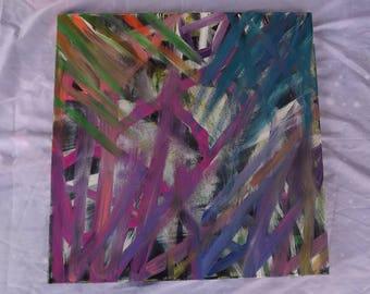 Hidden in the paint 20x20