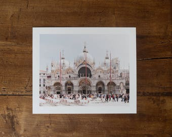 Saint Mark's Basilica, Venice - Fine art print